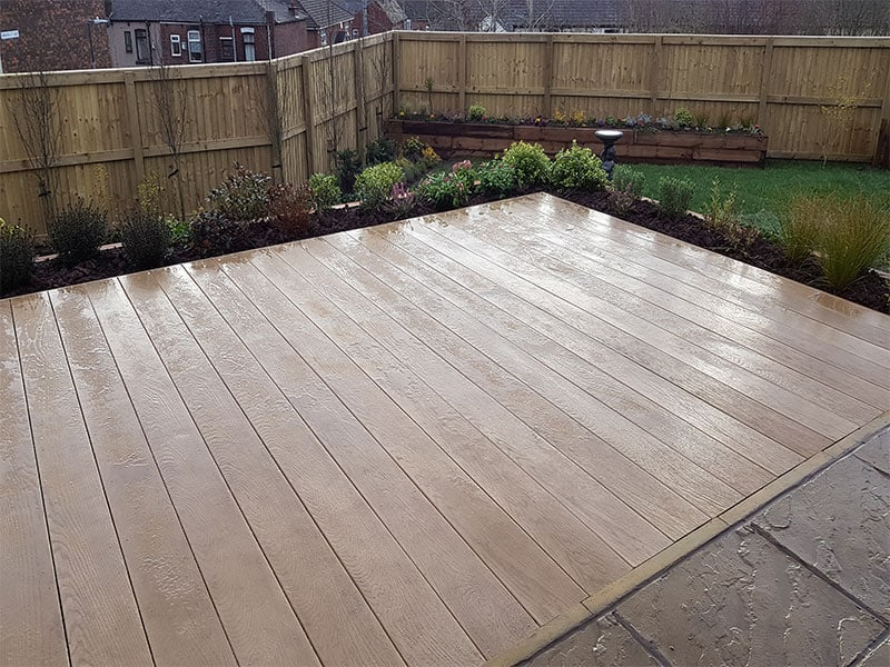 Milboard composite decking
