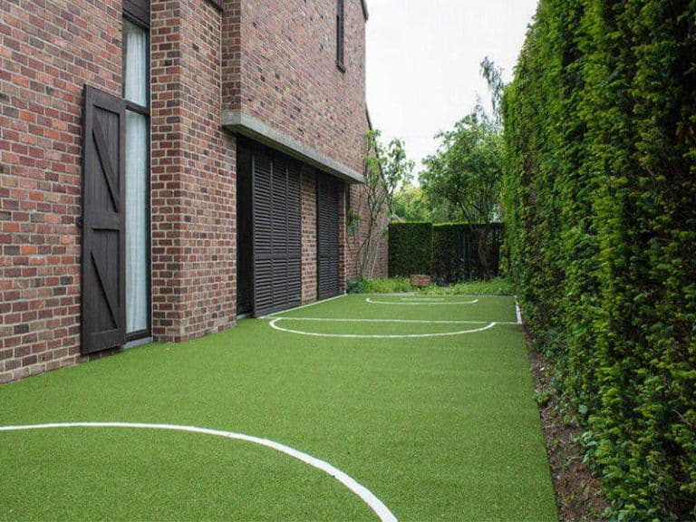 Artificial grass muga